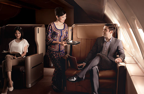 Indulge in Business Class with Singapore Airlines Book the Cook