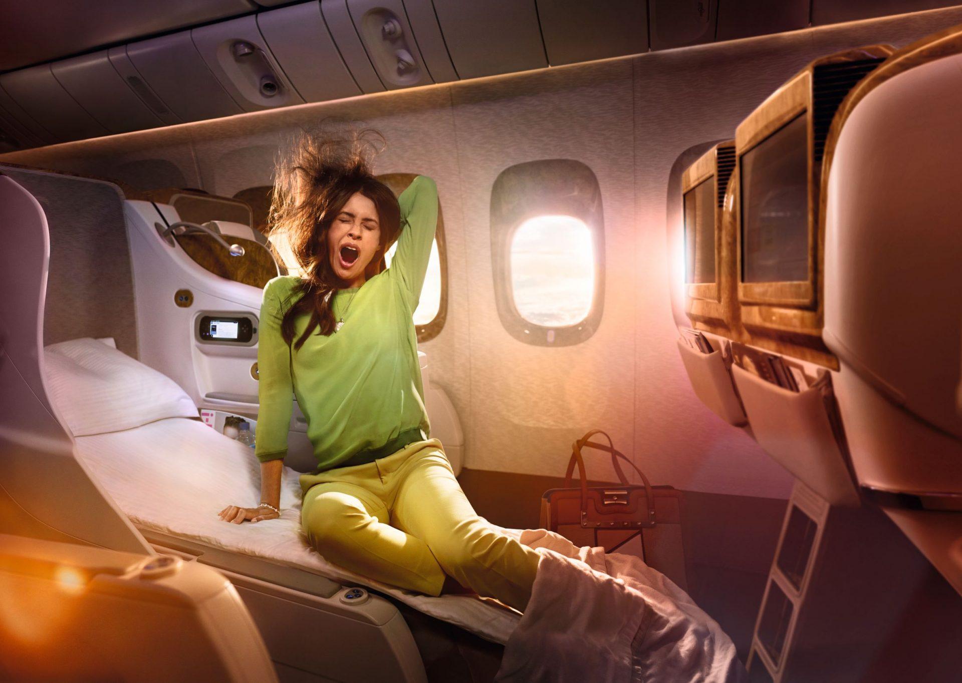 B777 Business Class - angle flat bed 4MP