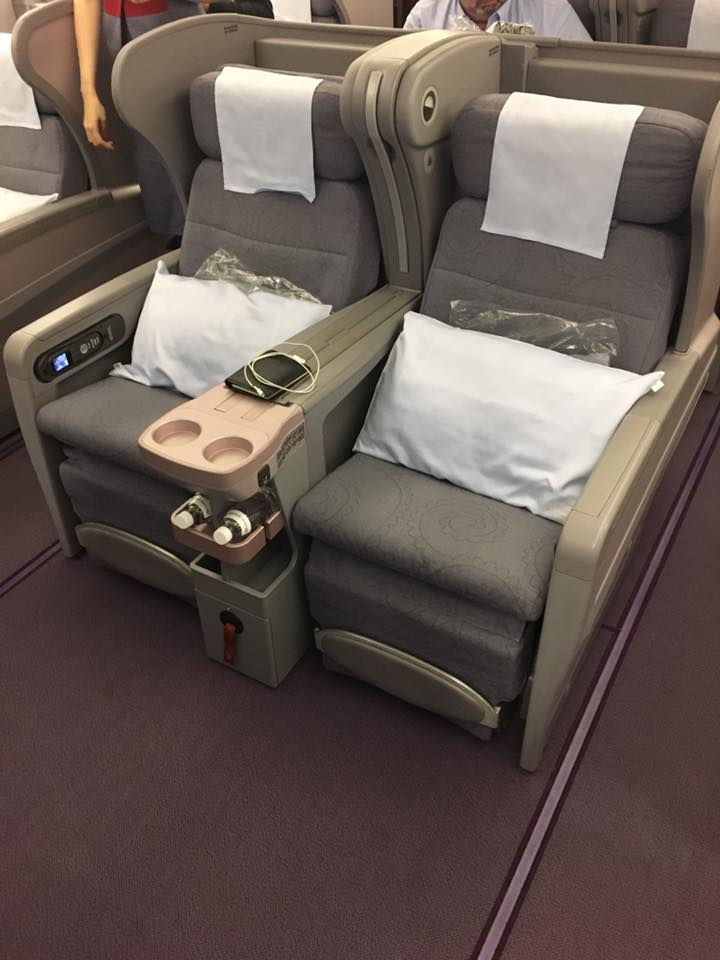 An Onboard Review of China Airlines Business Class and Economy Class