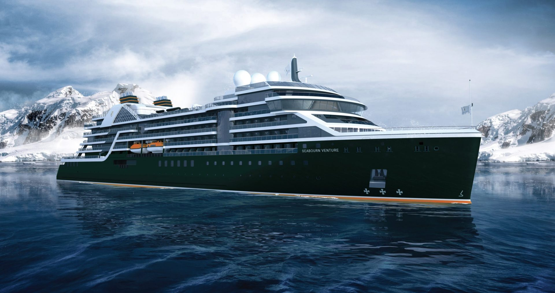 Expedition ship rendering (front)