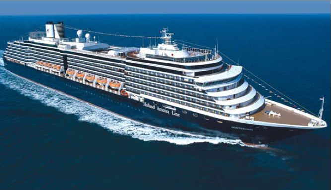 Onboard Holland America's Oosterdam
