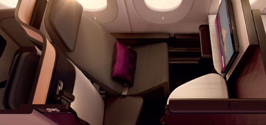 Review of Qatar Airways Business Class - New Zealand to UK / Europe