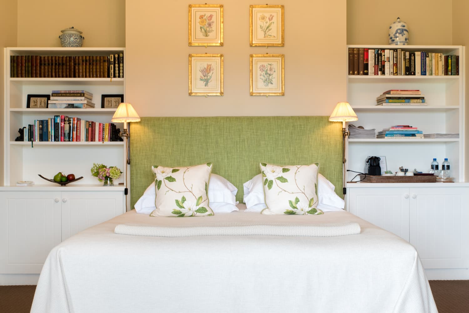 The Manse Riverview Bed and bookcase (1)