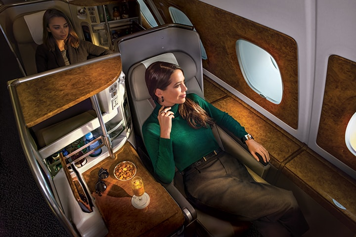 Comfort & Savings: Emirates Mixed Business Class / Economy Airfares to UK / Europe