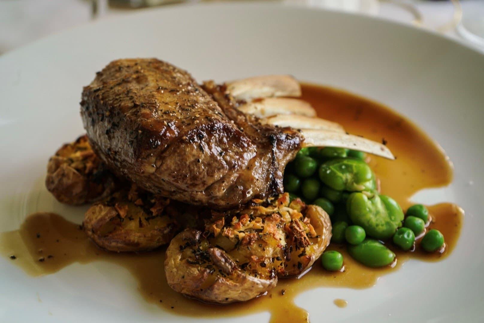 lamb dish at The Manse (1)