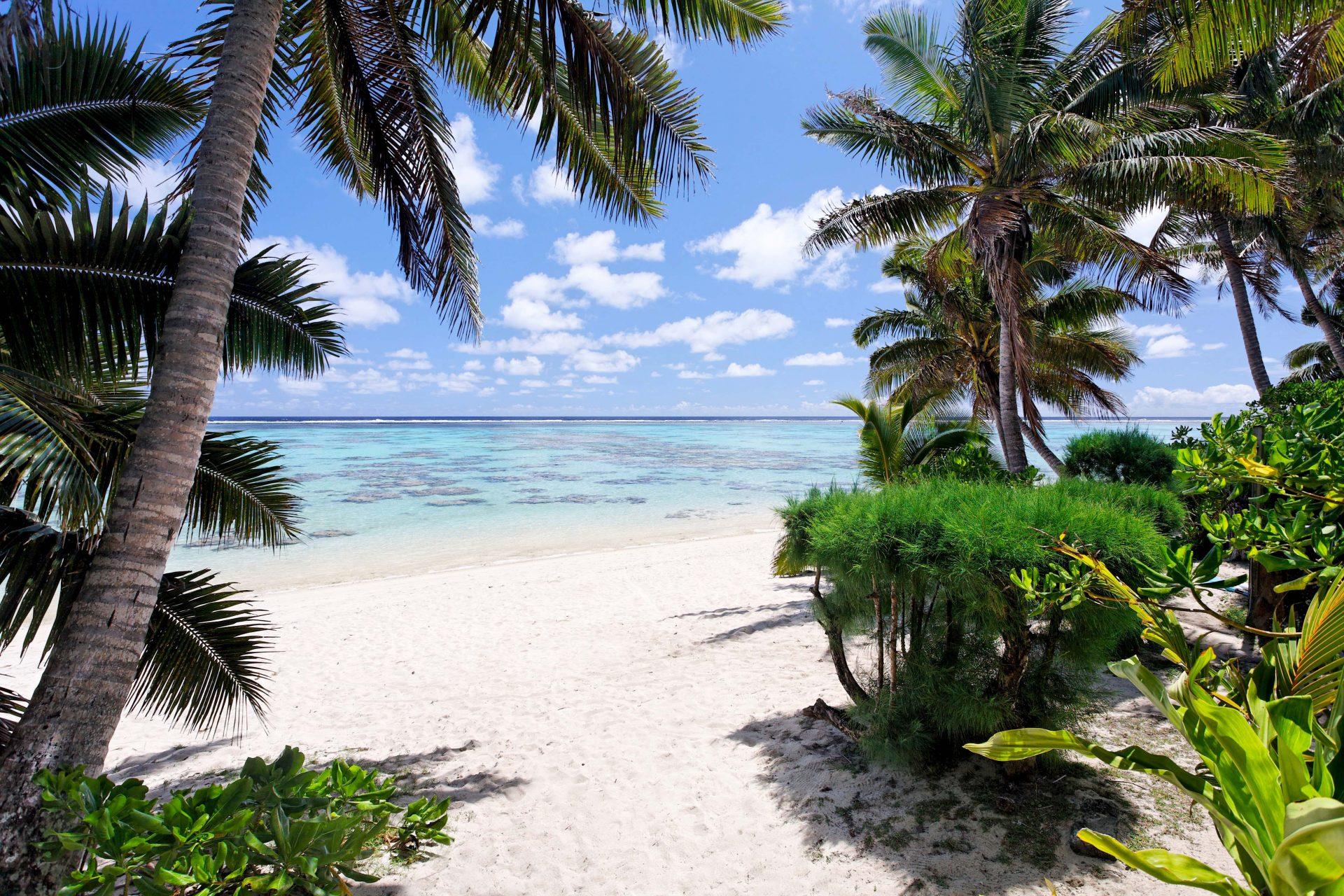 Sands Villas Rarotonga Beach View